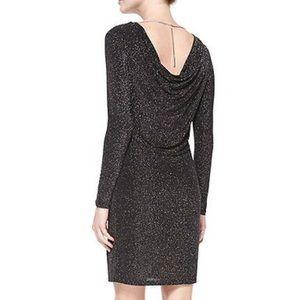 ❗️Michael Kors Shimmer Black Gold Dress NWT $125!